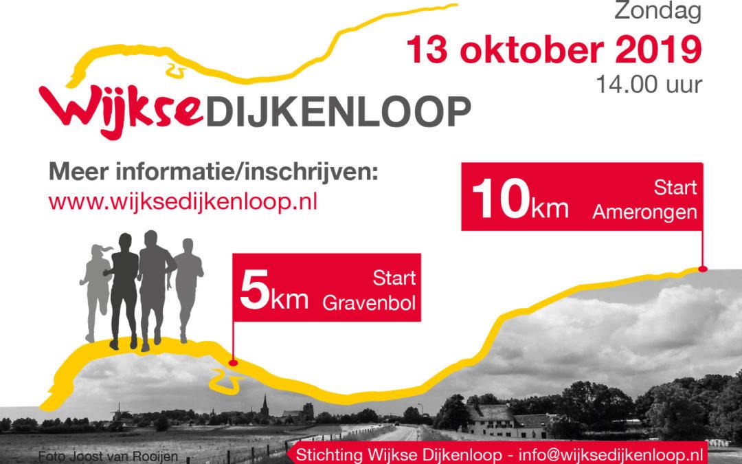 Inschrijving Wijkse Dijkenloop geopend!